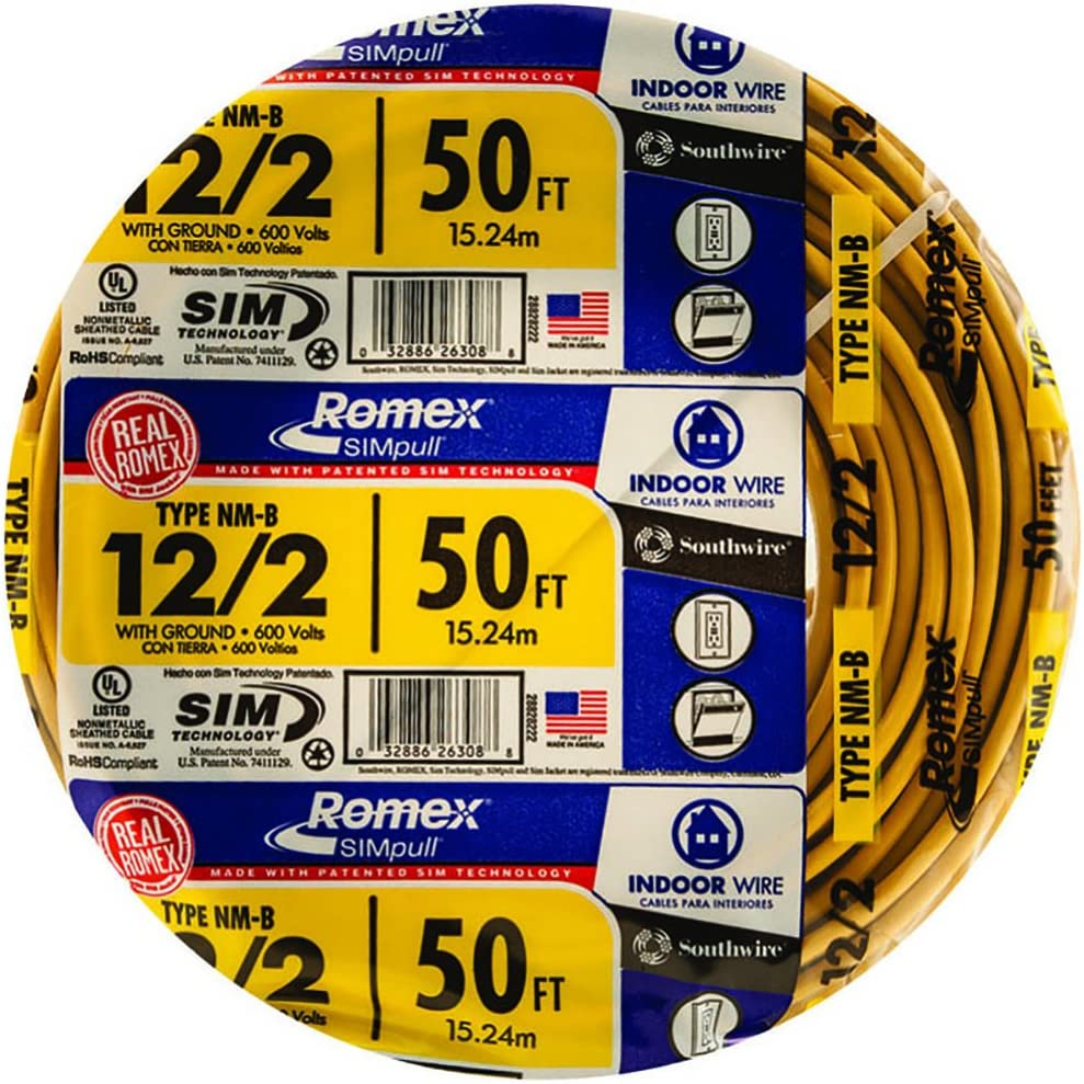 NEW Romex 12//2 With Ground  Electrical Wire 100ft