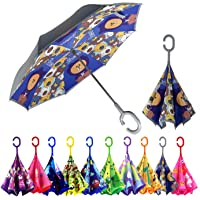 MRTLLOA Kids Umbrella, Reverse Kids Umbrella Girls, Inverted Kids Umbrella Boys, Upside Down Umbrellas for Kids Boys…