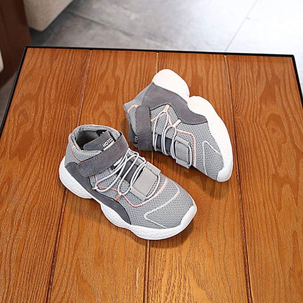 Toddler//Little Kid//Big Kid EsTong Unisex Childs Boys Tennis Shoes Girls Athletic Running Hiking Casual Walking Sneakers