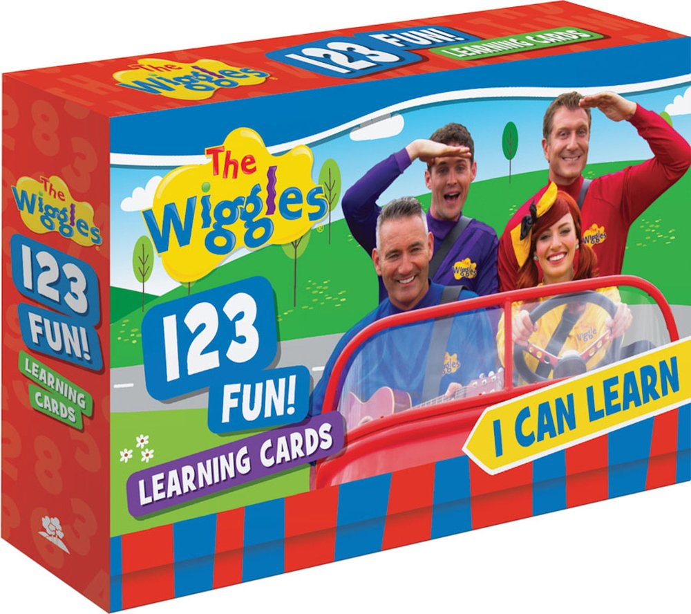 Download The Wiggles I Can Learn 123 Fun! Learning Cards PDF
