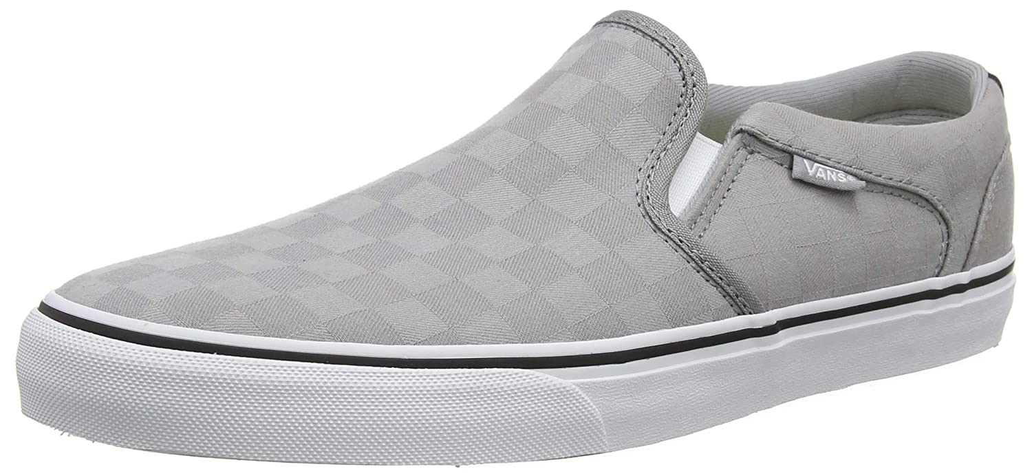 37f8ad209fefb6 Vans Men s Asher Deluxe Slip On Trainers  Amazon.co.uk  Shoes   Bags