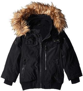 b510d5196 Amazon.com  Ben Sherman Boys  Short Parka Jacket  Clothing