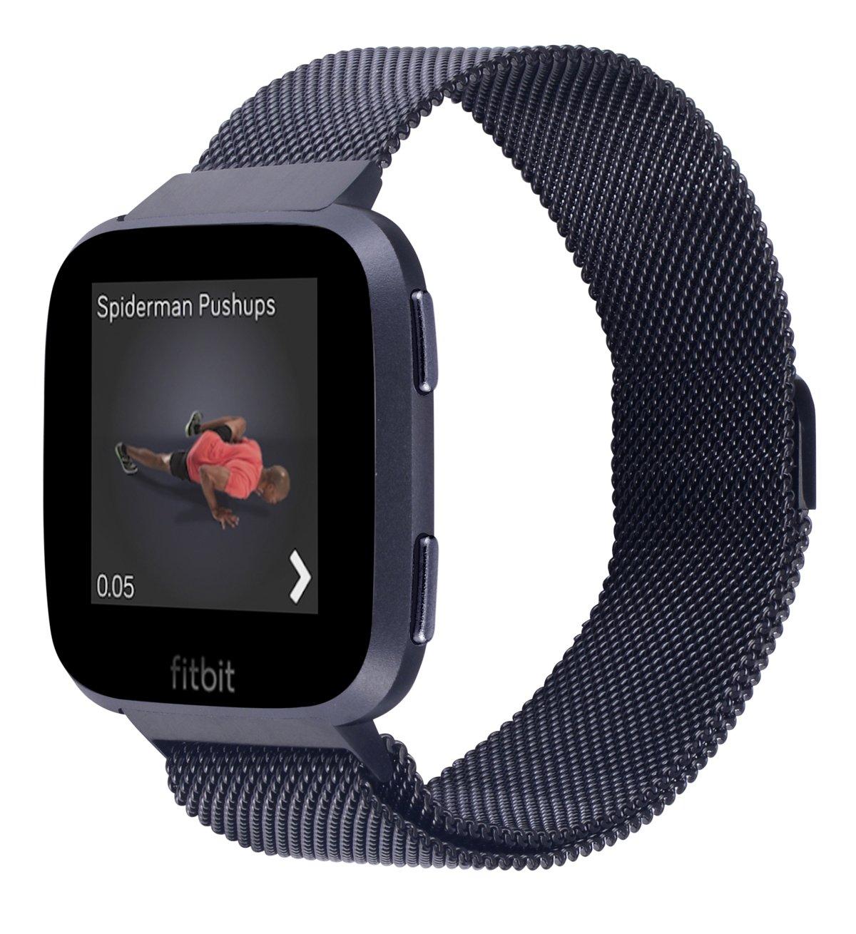 jsgjmy Apple Watchバンド38 mm 42 mmレディースメンズGenuineレザーループのiWatch Series 3 /シリーズ2 /シリーズ1 /Edition/スポーツ B07D5TMNDV ブラック Small Size:5.1\