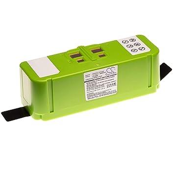 vhbw Li-Ion batería 4000mAh (14.4V) para Robot autónomo de Limpieza ...