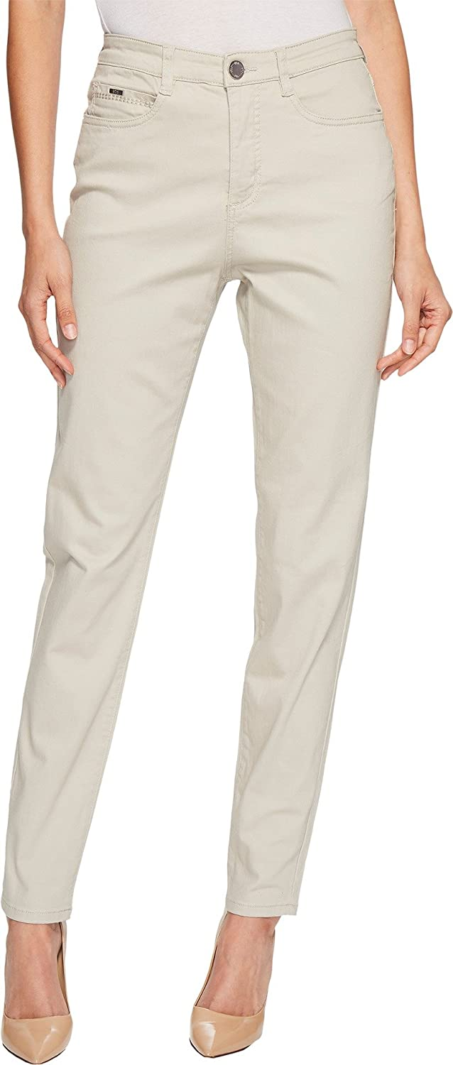 b34ef2c3a4 FDJ French Dressing Jeans Womens Sunset Hues Suzanne Slim Leg in Stone -  White - 16W x 30L  Amazon.co.uk  Clothing