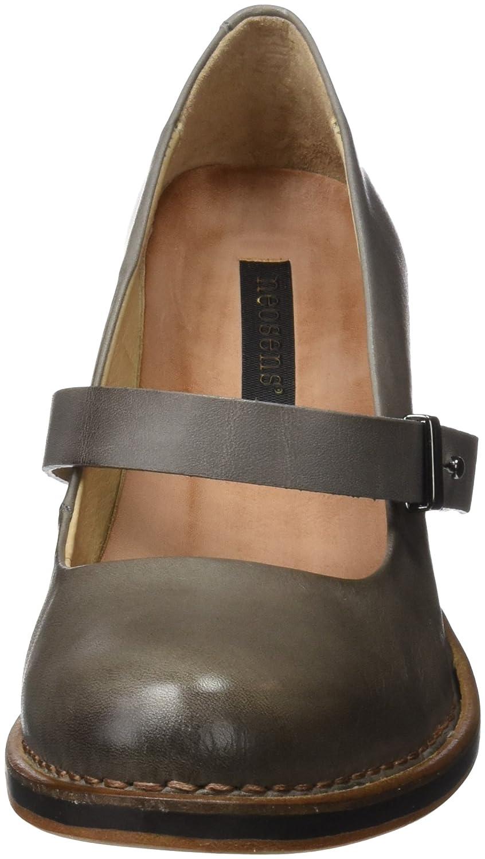 S279 Restored Skin Baladi, Zapatos de Tacón con Punta Cerrada para Mujer, Gris (Vetiver), 40 EU Neosens