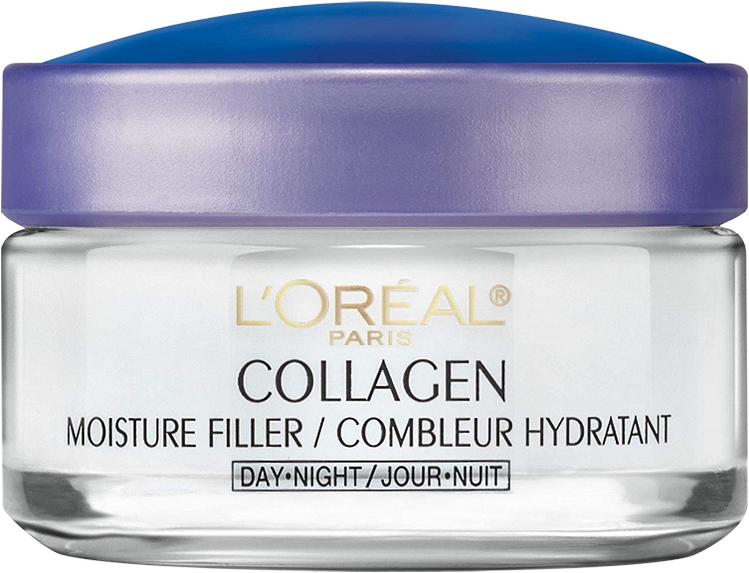 L'Oreal Paris Anti Aging Face Moisturizer Cream with Collagen, Day & Night  Skin Care, Fights Wrinkles + Restores Moisture, 50 mL: Amazon.ca: Beauty