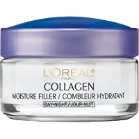 L'Oreal Paris Collagen Moisture Filler Day and Night Cream, Anti Aging Face Moisturizer, Reduces Fine Lines and Wrinkles…