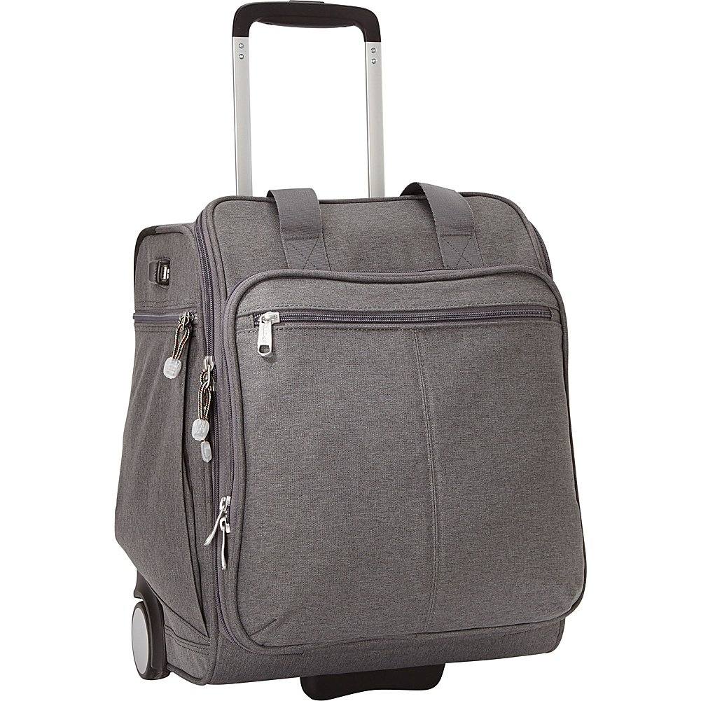 eBags Kalya Underseat Carry-on 2.0 with USB Port (Heathered Graphite) by eBags