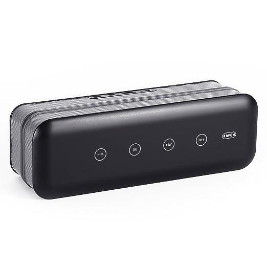 5 opinioni per Cassa Bluetooth 360 Gradi,YOKKAO Speaker Stereo Wireless con Doppio Altoparlanti