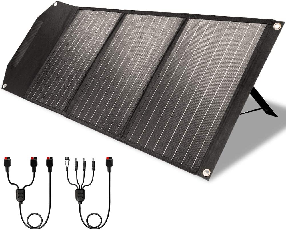 ROCKPALS RP081 60w Portable Solar Panel
