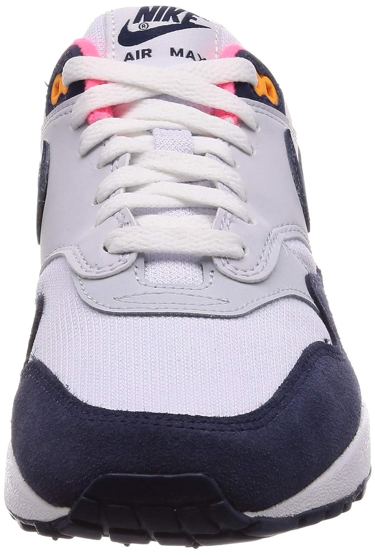 Nike Women's Air Max 1 WhiteMidnight Navy 319986 116