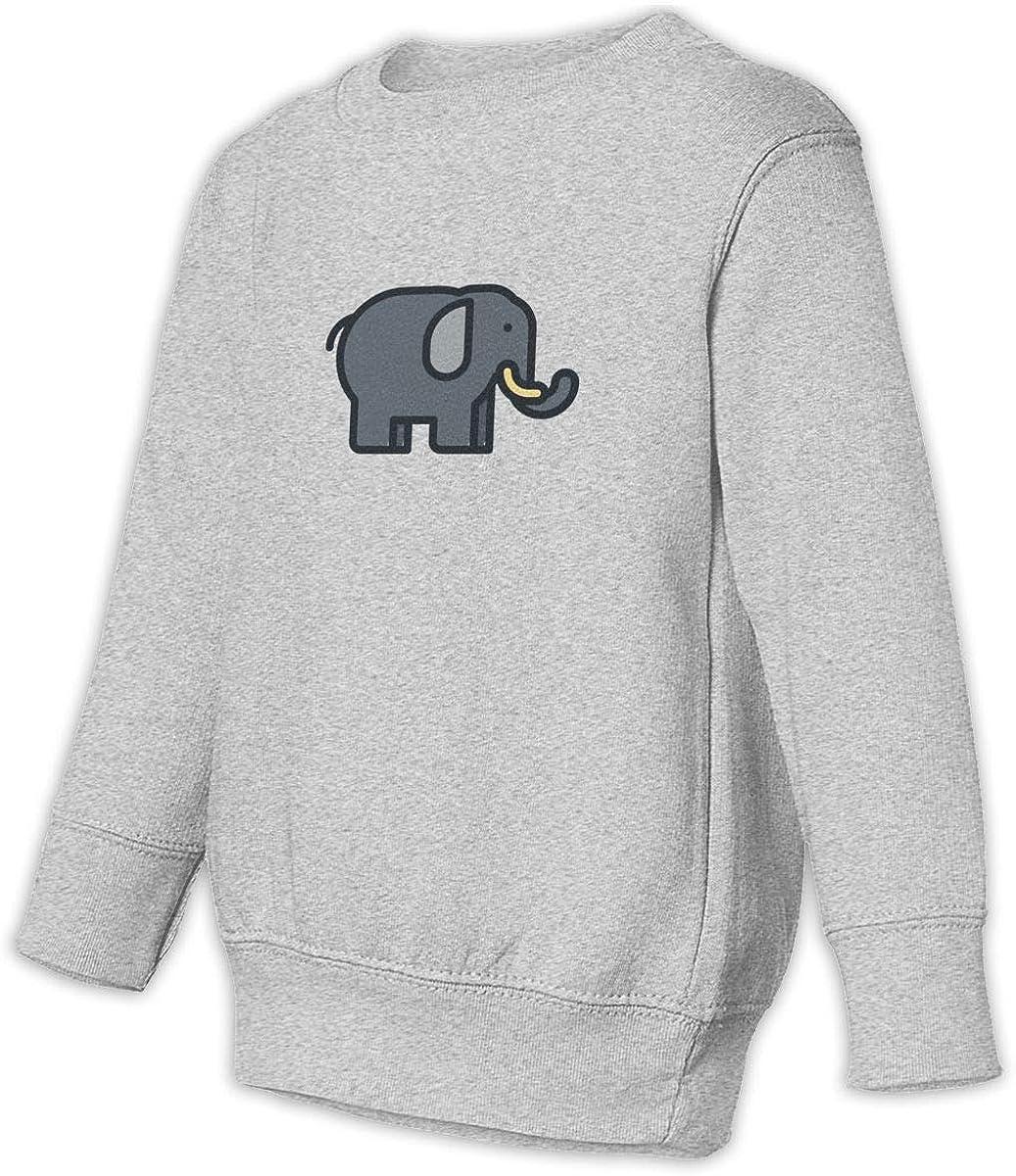 Fleece Pull Over Sweatshirt for Boys Girls Kids Youth Elephant Unisex Toddler Hoodies