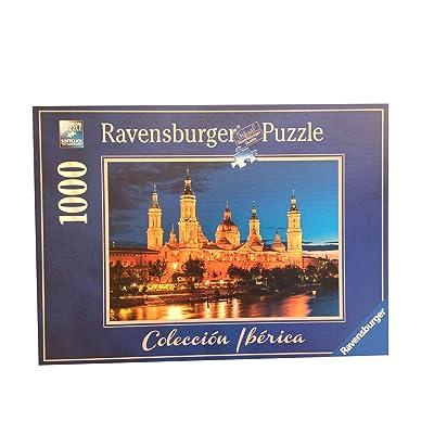 Puzzle Ravensburger 88585. Basilica del Pilar. Zaragoza. 1000 piezas: Juguetes y juegos