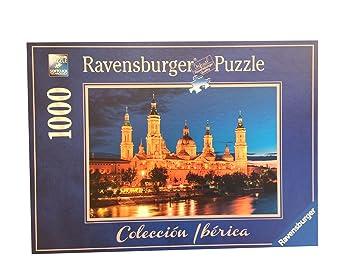 Puzzle Ravensburger 88585. Basilica del Pilar. Zaragoza. 1000 piezas