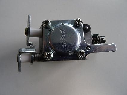 Piezas de repuesto carburador de gasolina carburador para Husqvarnas motosierra 136 137 141 142 Walbro WT-834 Motosierra piezas zomax topsun