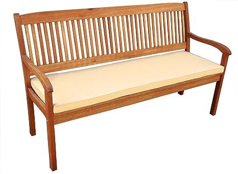 SAM® Cojín para banco de jardín, banco, banco de madera, 120 ...