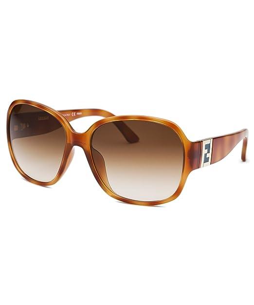 Fendi - Gafas de sol - para hombre Marrón marrón: Amazon.es ...