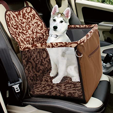 Speedy Pet Dog Cat Car Booster Seat Carrier Bag With CushionPortable Puppy