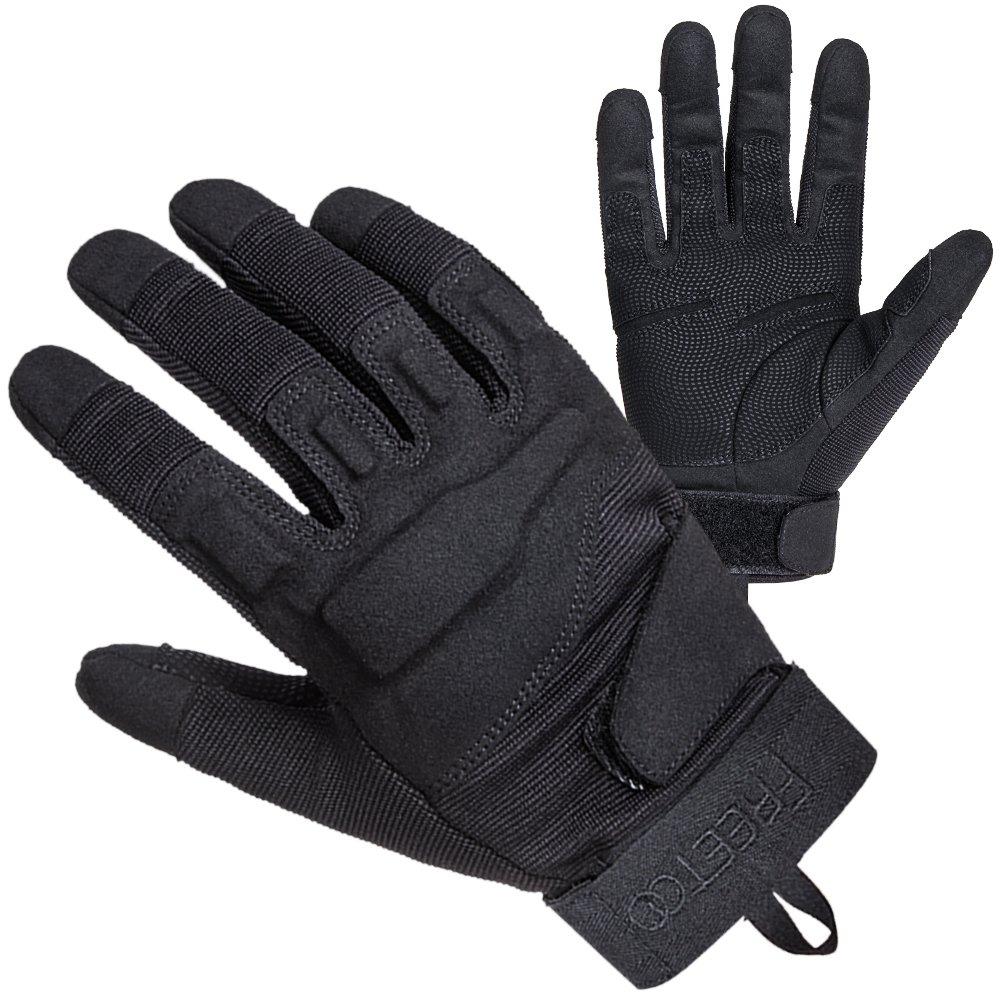 TPRANCE Tactical Gloves for Men, Full Finger Hard Knuckle Gloves for Outdoor Sports by TPRANCE (Image #1)