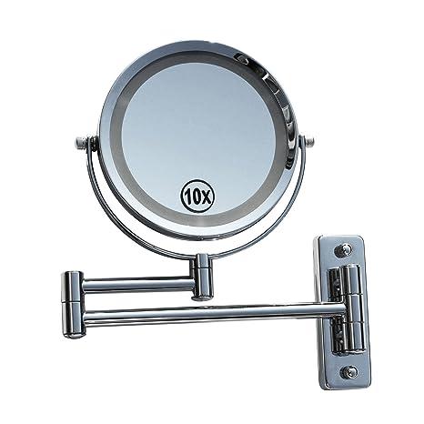 3fach Kosmetikspiegel mit Beleuchtung Spiegel Schminkspiegel beleuchtet