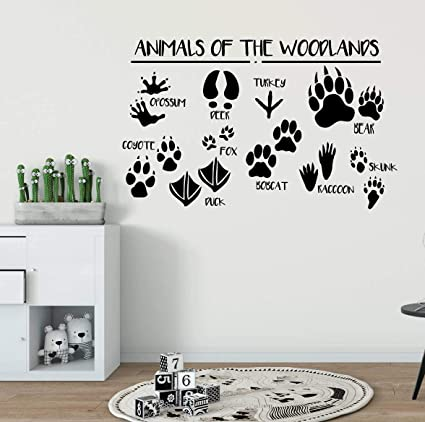 Amazon.com: Woodland Wall Decal Wall Decals for Kids ...