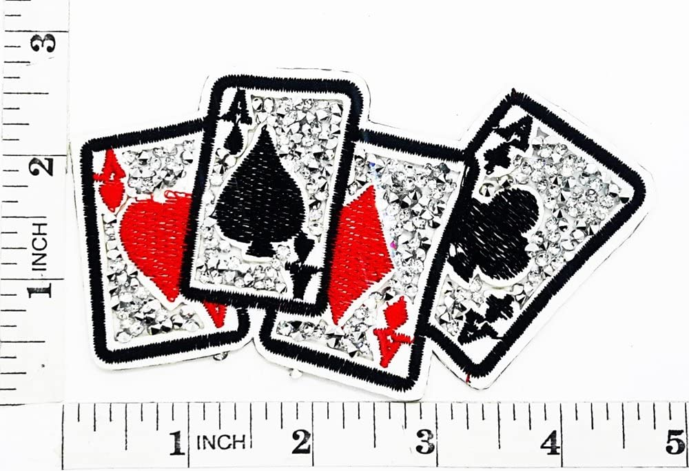 Amante rey Reina corona Corazón rojo de Ace Poker juego ganador ...