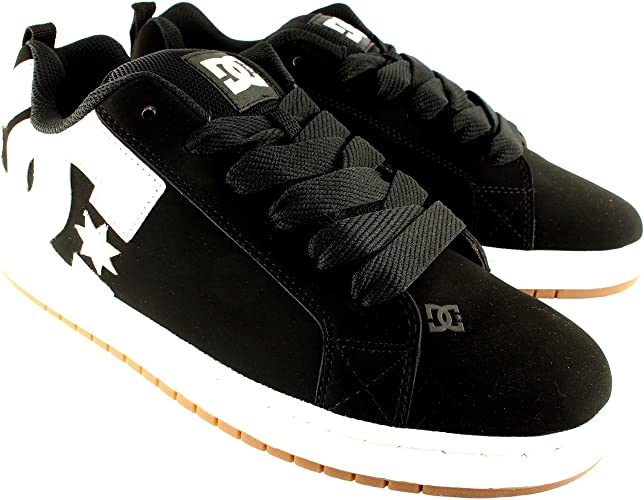 Skate Shoes Flat Leather Trainers UK