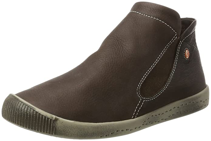 Inge Smooth - Botas Plisadas Mujer, Color Marrón, Talla 36 EU Softinos