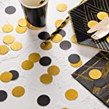 MOWO Glitter Paper Confetti Circles Wedding Party