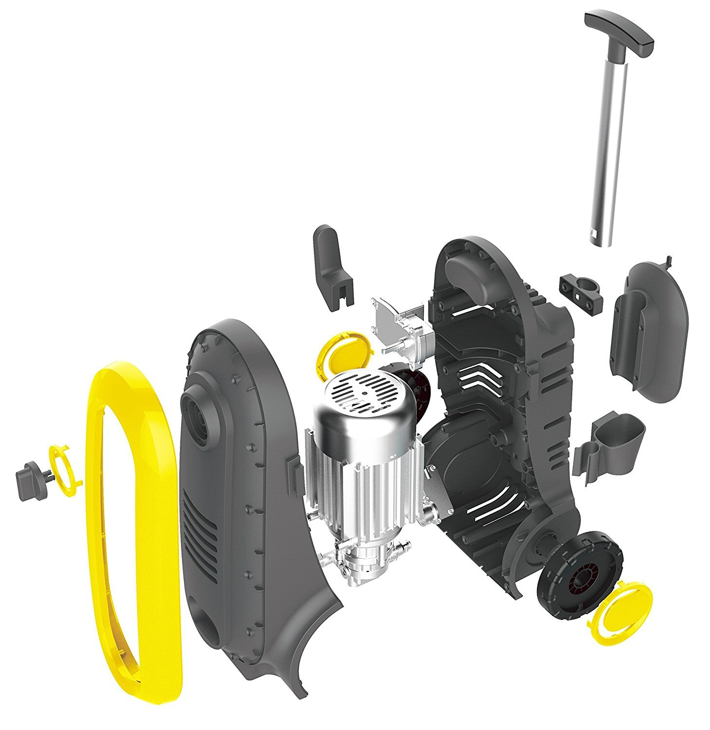 Power Pressure Washer 2300 PSI Electric | Brushless Induction Technology | The Next Generation of Pressure Washer | 3X More Lifespan | Ultra Low Sound | New Design | Power Efficient (Yellow) by Power Products USA (Image #5)