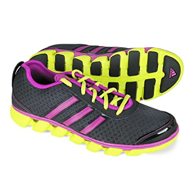 ADIDAS Liquid 2 W Running Shoe - Phantom/Vivid Pink/Lab lime (Women