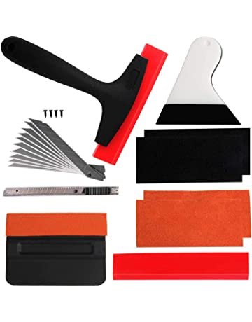 VZCY Vinyl Wrap Window Tint Tools, 10 Pcs Vehicle Vinyl Wrap Film Tool Kit,