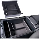 JDMCAR Center Console Organizer Compatible with Toyota 4Runner (2010-2019 2020 2021), Insert ABS Black Materials Tray…