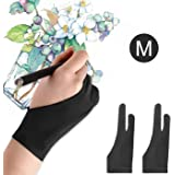 Mixoo Artists Gloves 2 Pack - Palm Rejection...