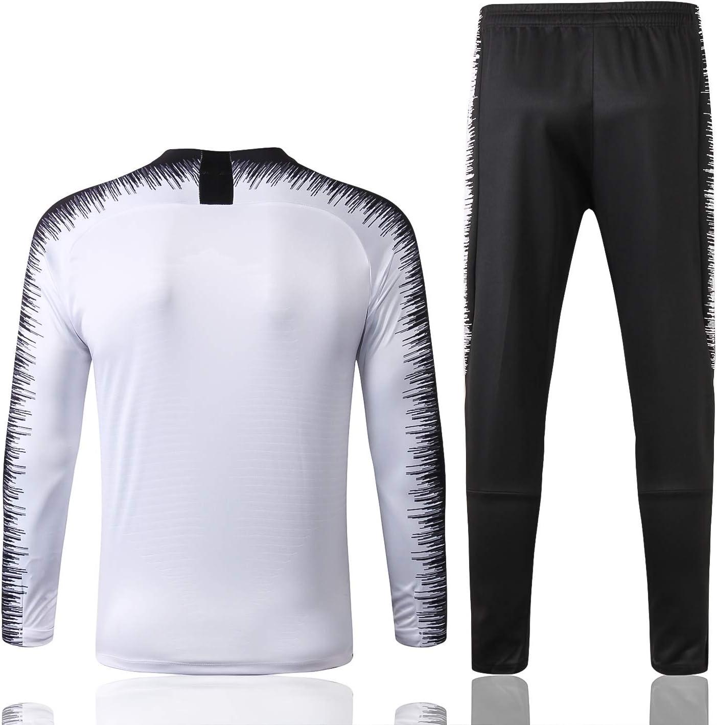 No-brand Palestine Football Club de Sport Blanc /à Manches Longues Respirant Football Formation V/êtements-dd091