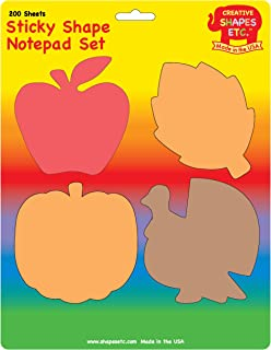 product image for Fall Sticky Notepad Set