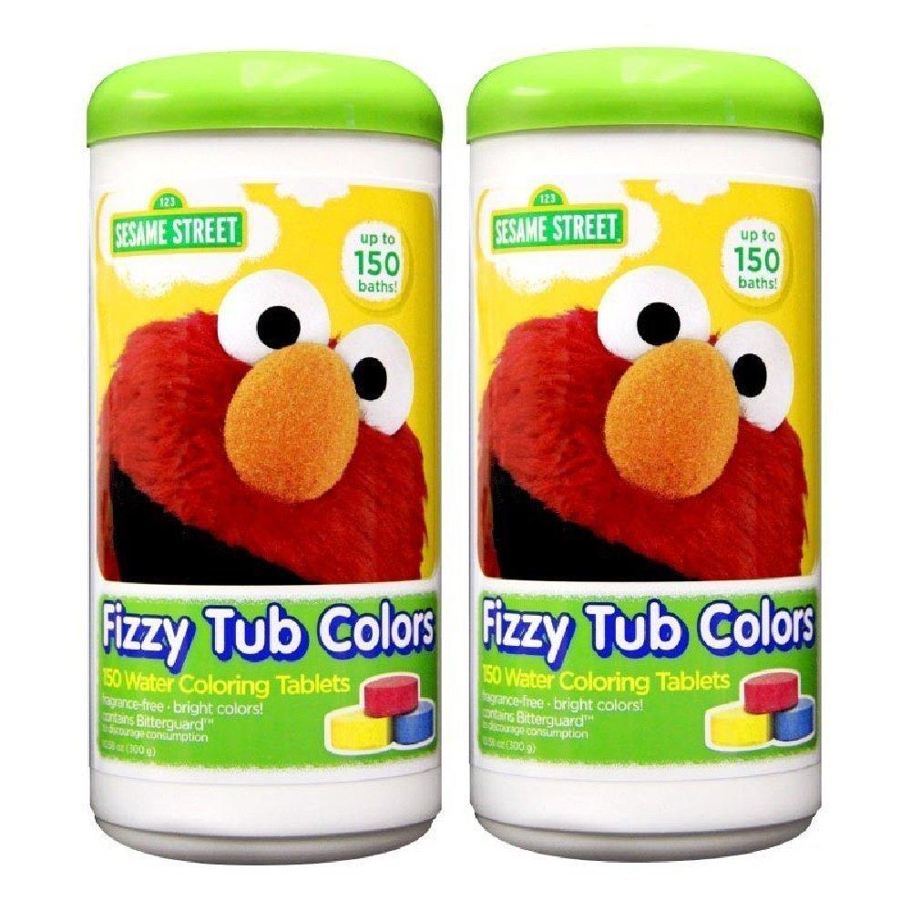 amazon com sesame street fizzy tub color tablets 10 58 oz
