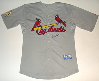new arrival 9bcd3 a91e0 Ozzie Smith Autographed Jersey (Cardinals) at Amazon's ...