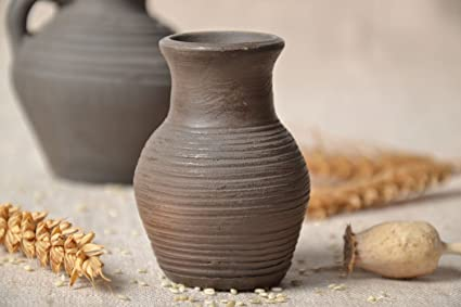 Amazon Small Clay Vase Home Kitchen