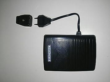 Pedal electronico Universal para maquinas Coser, Alfa, Lervia, Singer, Elna, Jata, COMPROBADO E: Amazon.es: Hogar