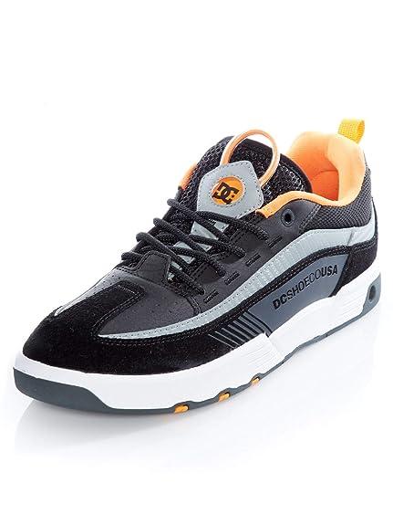 7285d943aeb6c9 DC Shoes Legacy 98 Slim S Black/Orange/Grey Skate Shoes: Amazon.co ...