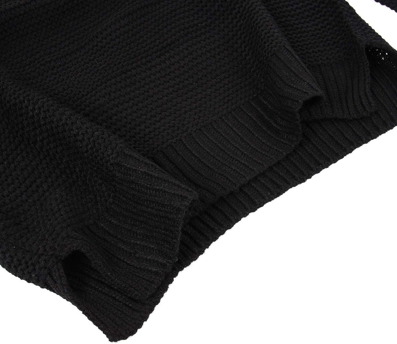 CLOUSPO Sweaters Women Turtleneck Long Sleeve Chunky Jumpers Women Pullover