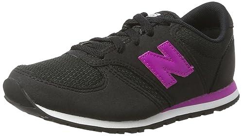 New Balance 420 Sneaker Unisex Bambini Nero Black/Pink 29 EU Scarpe