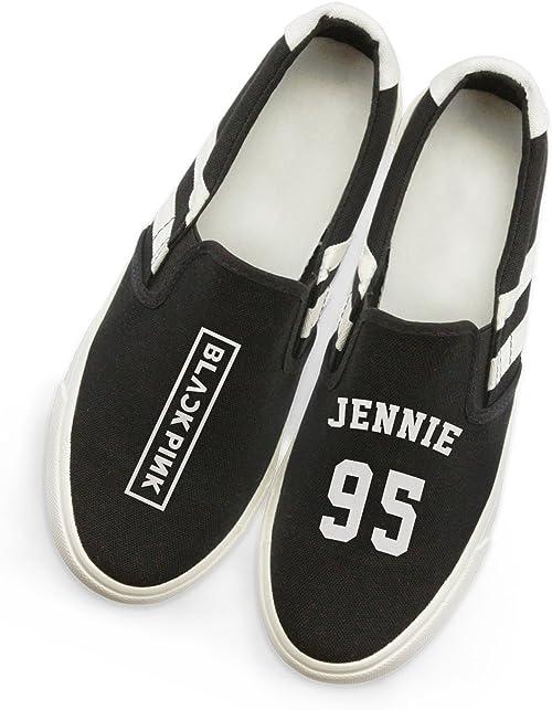 Amazon Com Fanstown Kpop Blackpink Sneakers Canvas Shoes