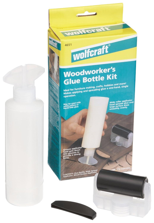 Wolfcraft 4651405 Woodworkers Glue Bottle Kit   Wood Glues   Amazon.com