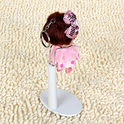 CUTICATE 10 Set Adjustable 20-25cm Doll Display Holder Bear Support Stand Accessory