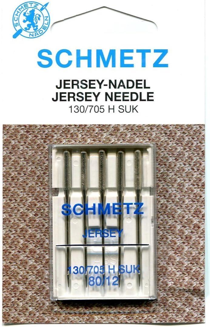 /varios tama/ños Rango de Schmetz Jersey//bol/ígrafo de aguja paquetes de 5 Finest / 70//10