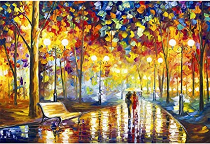 Amazon.com: Hartop Wooden Jigsaw Puzzles 1000 Pieces for Adults, Scenery  Landscape Jigsaw Puzzles, Entertainment DIY Toys for Creative Gift Home  Decor (Rainy Night Walk,30X20 Inch): Toys & Games