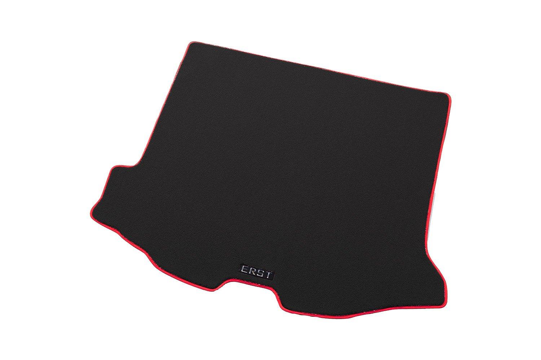 ボルボ専用ERST(エアスト) V60 (FB) カスタムフロアマット(ラゲッジ) マット本体カラー:ブラック/マットエッジ:レッド KA B00PZFNH50 本体:ブラック/エッジ: レッド 本体:ブラック/エッジ: レッド